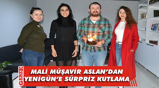 Gülcan Aslan, Yenigün'ün yeni yaşını kutladı