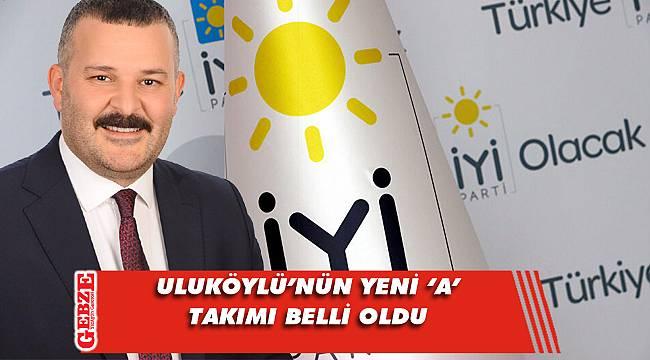 İYİ Parti Gebze'de divan değişimi
