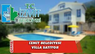 İzmit Belediyesi'ne ait 2 villa satılacak