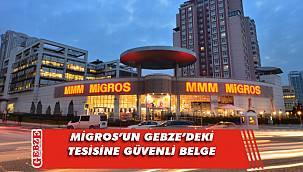 Migros'a COVİD-19 Güvenli Hizmet belgesi