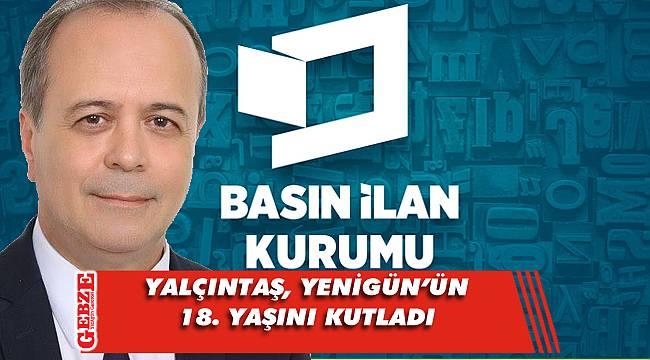 Yalçıntaş'tan gazetemize yeni yaş mesajı