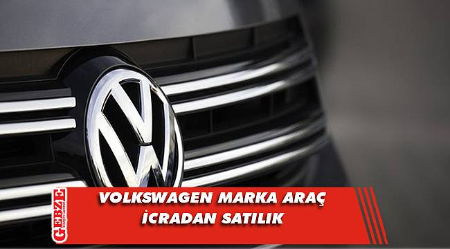 2016 model Volkswagen marka araç icradan satılık