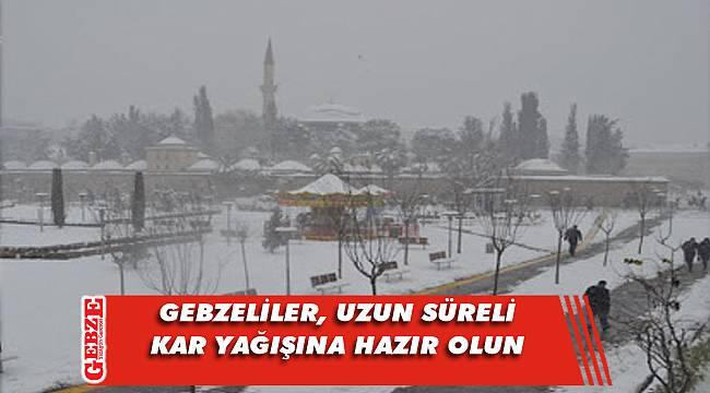 AFKOM, kar yağışı için uyardı