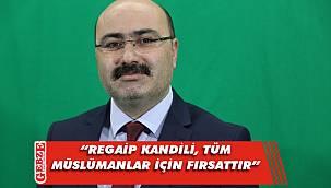 AK Partili Acay'dan kandil mesajı
