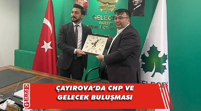 CHP'li Soyluçiçek'ten Gelecek Partisi'ne ziyaret