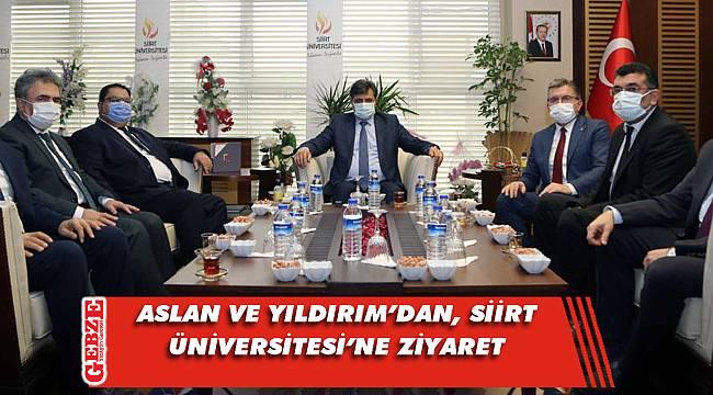 Gebze Teknik Üniversitesi heyeti Siirt'e gitti