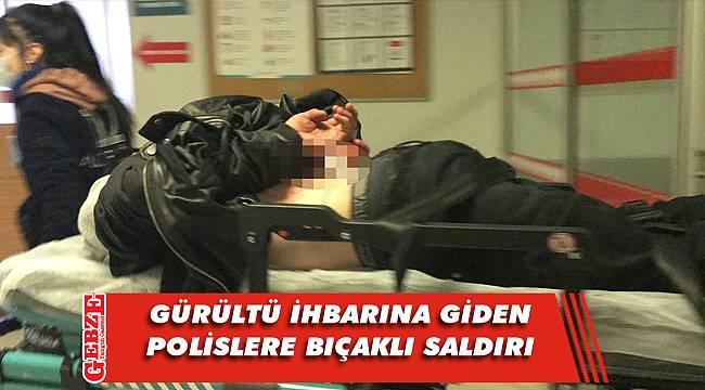 Kocaeli'de iki polis memuruna bıçaklı saldırı