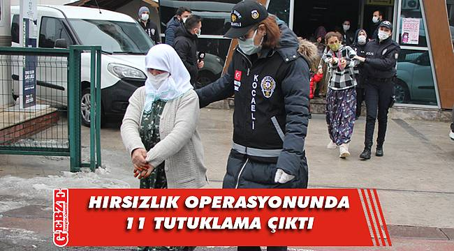 Kocaeli merkezli operasyonda yakalanmışlardı