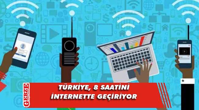 Türkiye'nin internet kullanımı araştırıldı