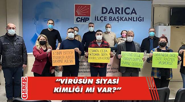 CHP Darıca, AK Parti'nin kongrelerini eleştirdi