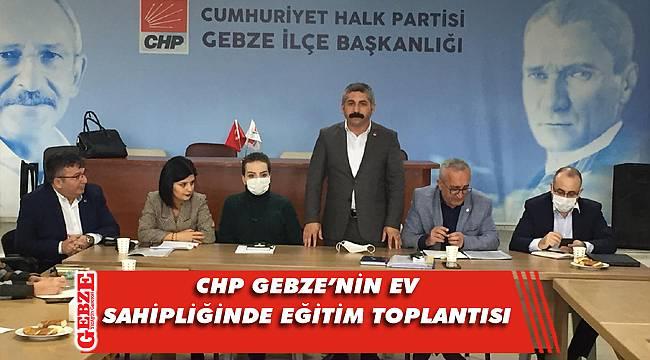 CHP'nin eğitim programına Gebze ev sahipliği yaptı