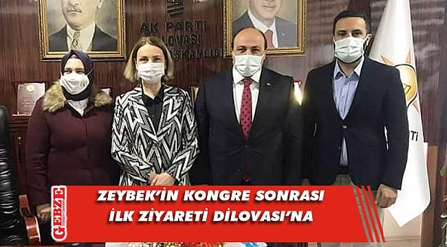 Emine Zeybek, AK Dilovası'na gitti