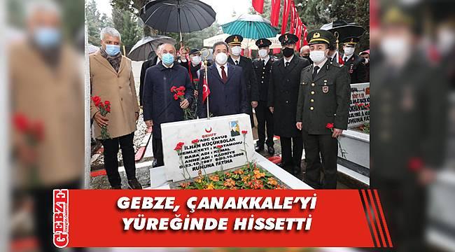 Gebze, 18 Mart'ı onurla, gururla kutladı