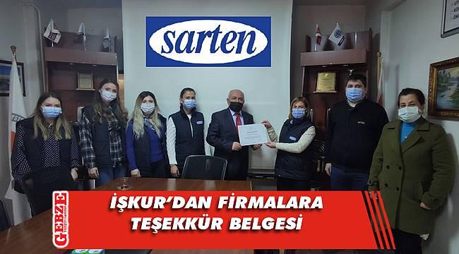 İŞKUR Gebze'den firmalara 8 Mart teşekkürü