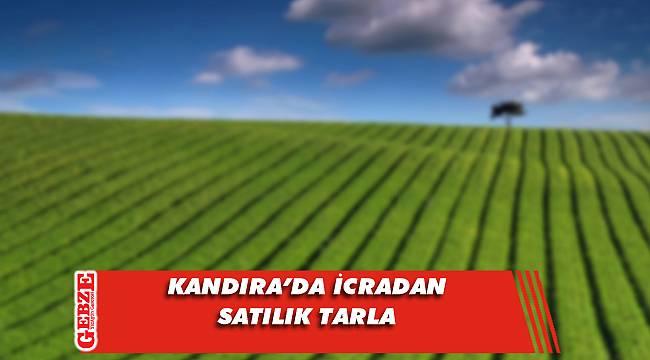 Kandıra'da 7 bin 194 metrekare tarla mahkemeden satılık