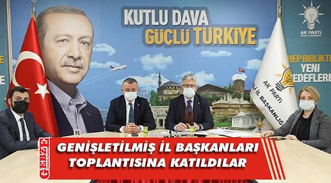 Kocaeli'de AK Parti'nin kurmayları Erdoğan'ı dinledi