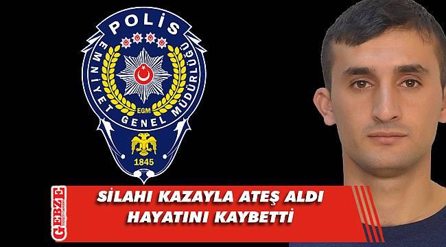 Kocaeli'de genç polisin üzen ölümü