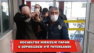 Polis, her yerde aranan o hırsızları enseledi