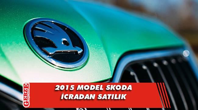 2015 model Skoda icradan satılık