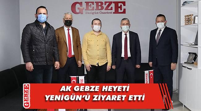 AK Parti Gebze'den gazetemize ziyaret