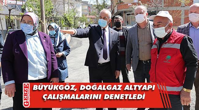 Başkan Büyükgöz'den Yavuz Selim turu