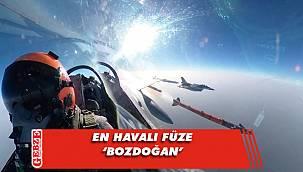 Bozdoğan, F16'dan atıldı