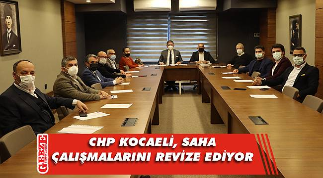 CHP Kocaeli'nde ilçe başkanları bir araya geldi