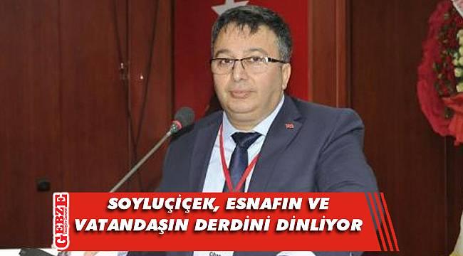 CHP'li Soyluçiçek çalışmalarını anlattı