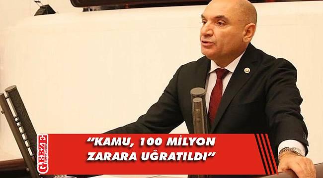 CHP'li Tarhan'dan tramvay ihalesi açıklaması