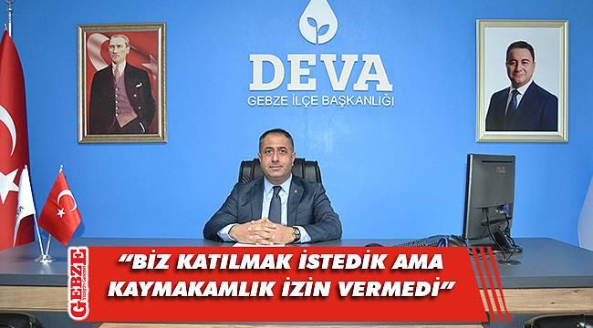 DEVA Gebze'den o habere ilişkin açıklama