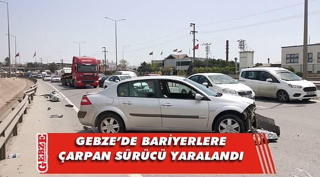 Gebze'deki trafik kazası ulaşımı aksattı