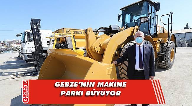 Gebze'nin köy yolları bu makineyle açılacak