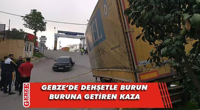 Hasköy Sanayi Sitesi'nde korkutan kaza