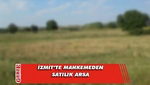İzmit'te 454 metrekare arsa mahkemeden satılık