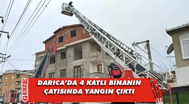 Kazım Karabekir Mahallesi'nde yangın paniği