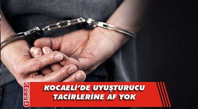 Kocaeli'de zehir taciri 14 kişiye tutuklama