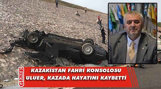 Konsolosluk aracı Kocaeli'nde kaza yaptı; 4 ölü