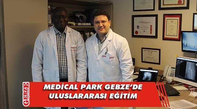 O hekimler Medical Park Gebze'de eğitim alıyorlar