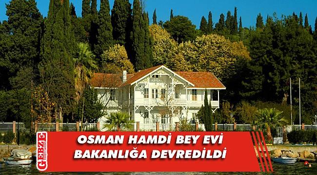 Osman Hamdi Bey Evi prestij müze olacak