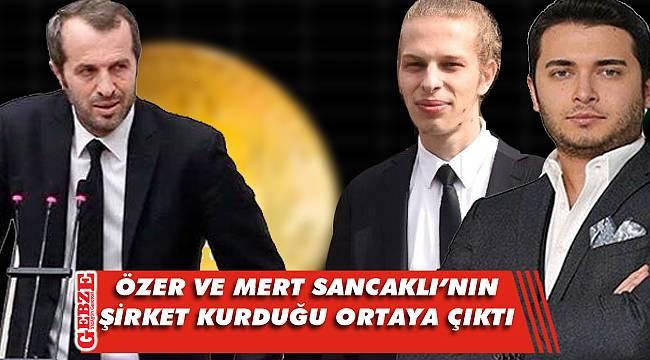 Özer, MHP'li Saffet Sancaklı'nın oğluyla ortak çıktı
