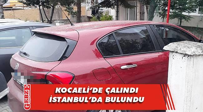 Polis, Kocaeli'de çalınan aracı buldu