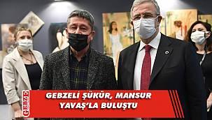 Rıdvan Şükür, Mansur Yavaş'la görüştü