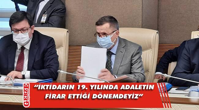 Türkkan, karma komisyon toplantısında konuştu