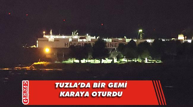 Tuzla'da gece saatlerinde korkutan anlar