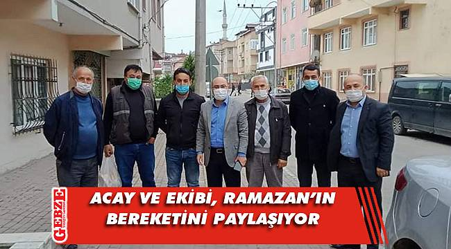 AK Darıca'dan Ramazan'da mahalle turu