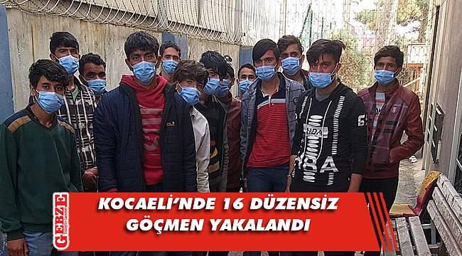Anadolu Otoyolu'nda düzensiz göçmen operasyonu