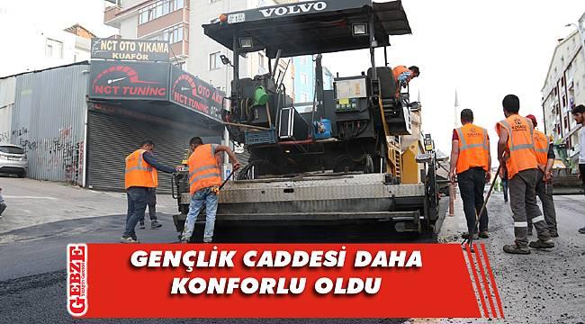 Büyükşehir'in Gebze'deki çalışmaları sürüyor