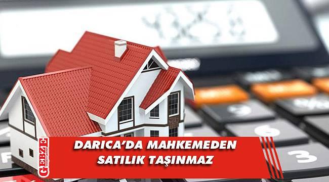 Darıca'da mahkemeden satılık taşınmaz