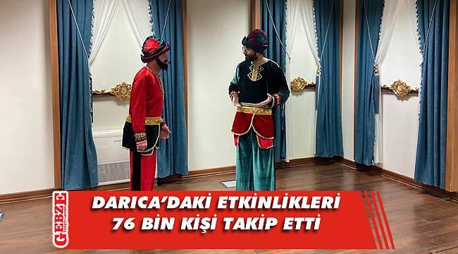 Darıca'daki sosyal medya etkinliklerine yoğun ilgi