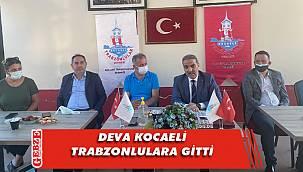 DEVA Kocaeli'nden Trabzonlulara ziyaret